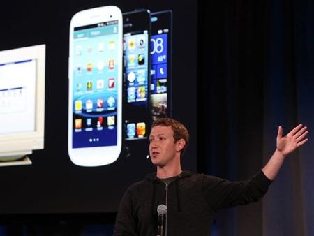 Khoảng 49% trong 2,02 tỷ USD doanh thu quý vừa qua của Facebook đến từ nền tảng di động.