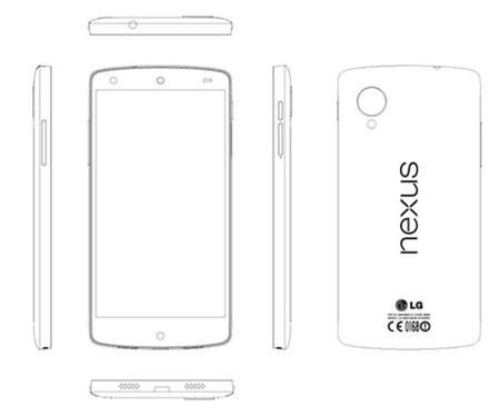 Bản phác thảo Nexus 5 trong tài liệu hướng dẫn vừa rò rỉ.