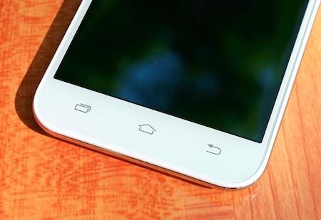 3 phím cảm ứng truyền thống của các thiết bị Android được bố trí hợp lý