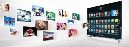 Muôn vàn trải nghiệm thú vị trên SmartTV