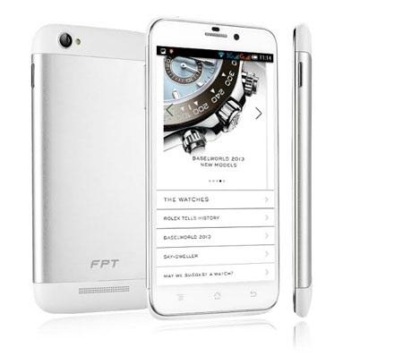 Trải nghiệm smartphone nguyên khối FPT VI