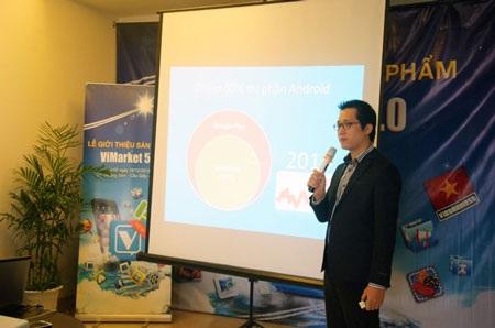Anh Lê Văn Giáp - Giám đốc điều hành của ViMarket.