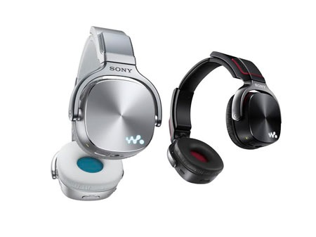 Dòng Walkman WH được thiết kế dưới dạng tại nghe choàng đầu khá độc đáo
