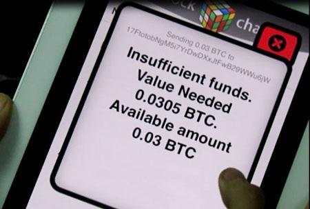 Số tiền 0,03 Bitcoin được chuyển tới tài khoản của lamchame.com.