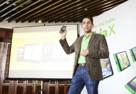 Ôông Vinod Muralidharan- Tổng Giám Đốc Nokia Việt Nam giới thiệu về Nokia X.