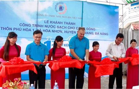 Lễ khánh thành công trình nước sạch tại xã Hòa Nhơn (Hòa Vang, Đà Nẵng)