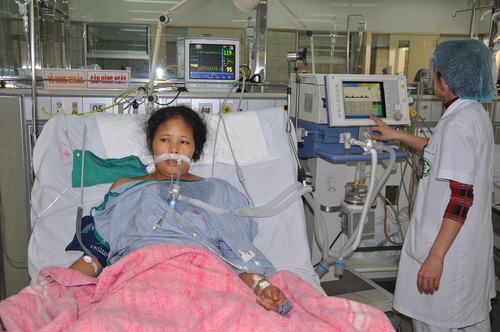 Hiện tại chị đã được phẫu thuật cắt bỏ tử cung.
