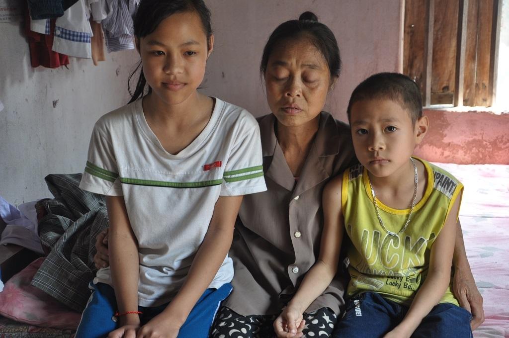 Căn bệnh hiểm nghèo hành hạ khiến chị Hiệu chỉ còn hơn 20 kg.