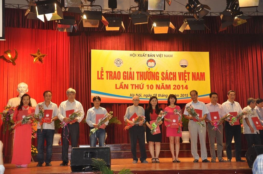 Những đầu sách nổi bật trong lễ trao giải thưởng năm 2014.