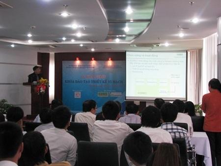 Khai giảng lớp thiết kế vi mạch