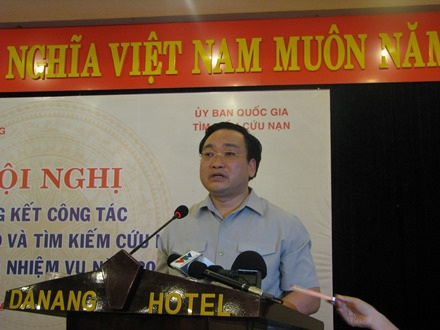 Phó thủ tướng Hoàng Trung Hải phát biểu tại hội nghị