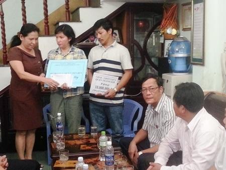 Các cơ quan, ban, ngành hỗ trợ cho gia đình bà Hoa