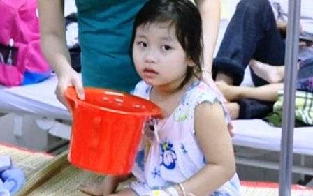 Trẻ em nhập viện cấp cứu do nguồn nước nhiễm vi sinh