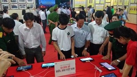 Triển lãm bản đồ, tư liệu Hoàng Sa, Trường Sa là của Việt Nam