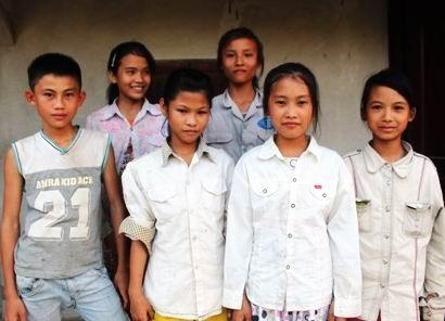 Em Lê Văn Đượccùng 5 bạn gái được Được cứu sống tại sông Gang chiều ngày 17/6.