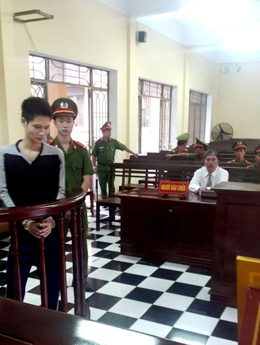 Bị cáo Phạm Văn Trực tại phiên tòa ngày 28/11