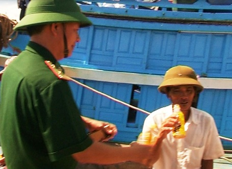 Sức khỏe các ngư dân cũng đã ổn định