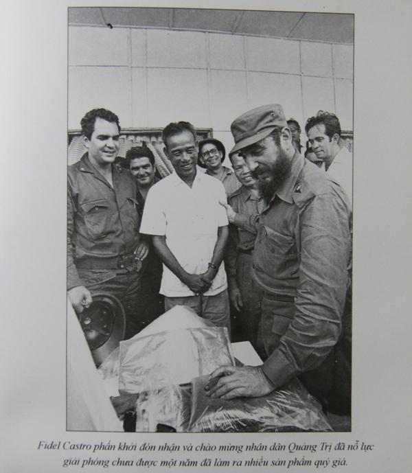 Những khoảnh khắc đầy xúc động của chủ tịch Fidel Castro trong chuyến thăm Quảng Trị - 4