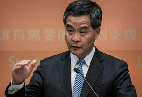 Trưởng đặc khu hành chính Hồng Kông Lương Chấn Anh.