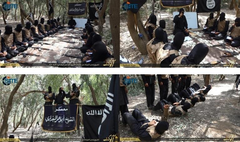 Các hoạt động huấn luyện của phiến quân IS.