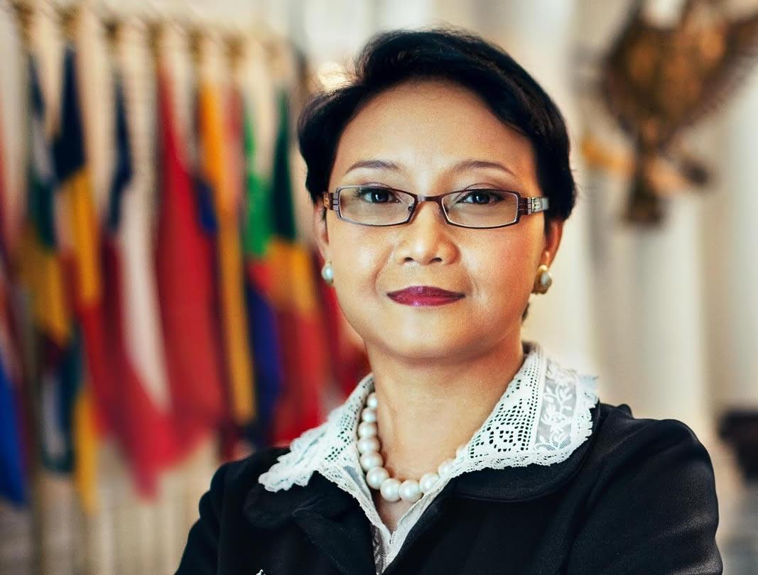 Tân Ngoại trưởng Indonesia Retno Marsudi.
