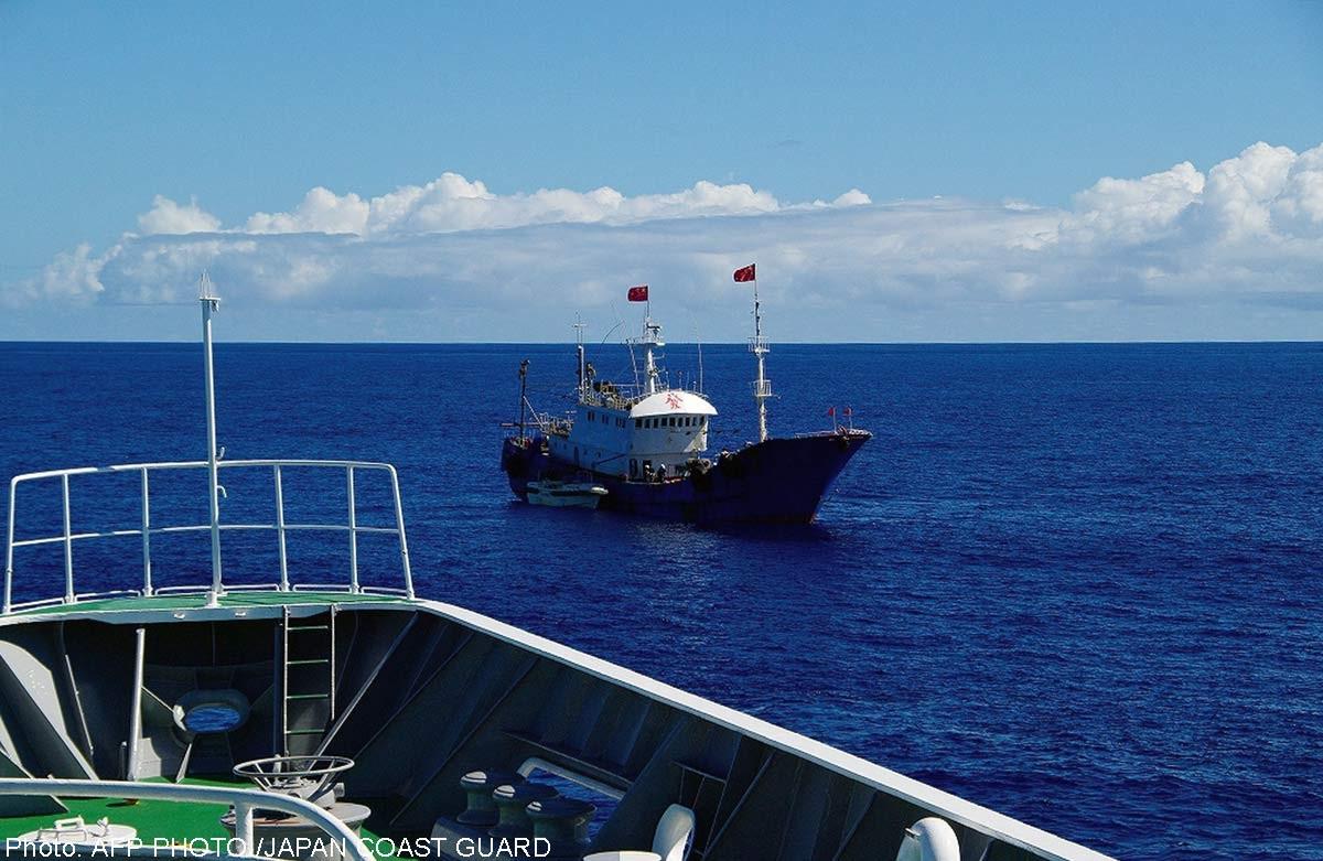 Nhật Bản bắt thuyền trưởng tàu cá Trung Quốc sau màn rượt đuổi