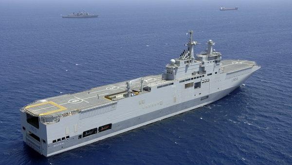 Tàu chiến lớp Mistraldo Pháp chế tạo.