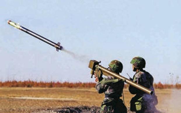 Tên lửa vác vai đất đối không FN6.