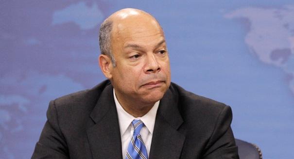 Bộ trưởng An ninh nội địa Mỹ Jeh Johnson.
