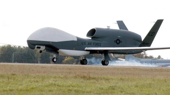 Một máy bay do thám Global Hawk của không quân Mỹ.
