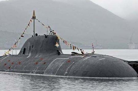 Một tàu ngầm của Ấn Độ.