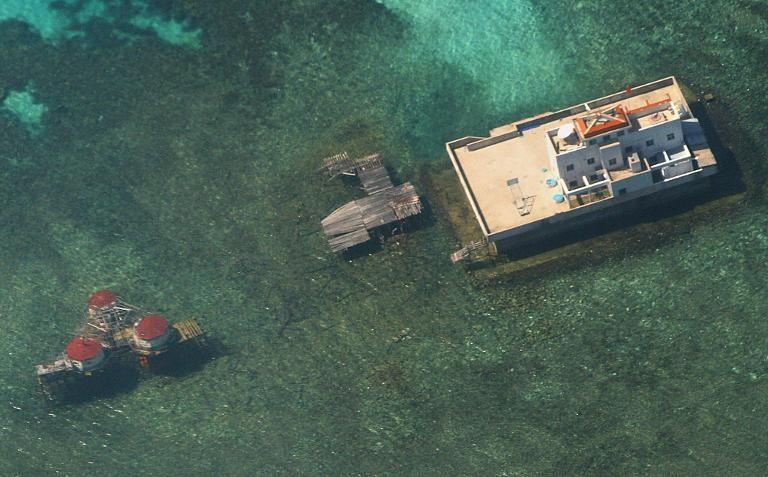 Các cơ sở trái phép của Trung Quốc trên Biển Đông.