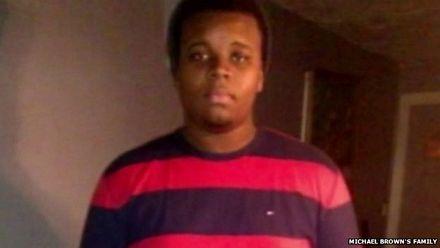 Michael Brown, người bị viên cảnh sát Wilson bắn chết.