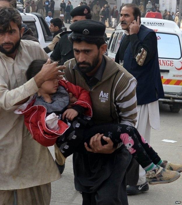 Ít nhất 132 học sinh đã thiệt mạng trong vụ thảm sát.