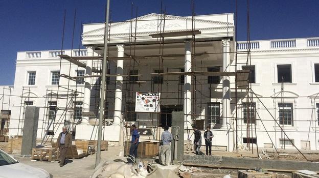 """Dinh thự """"Nhà Trắng"""" của doanh nhân Shihab Shihab"""