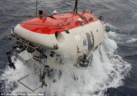 Tàu lặn Giao Long của Trung Quốc.
