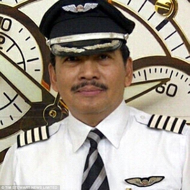 Cơ trưởng chuyến bay mất tích QZ8501 Iriyanto.