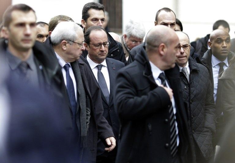 Tổng thống Pháp Francois Hollande ngay chiều nay đã tới thị sát hiện trường vụ tấn công.