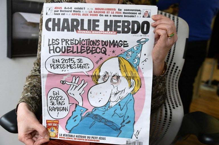 Một ấn bản mới nhất của tờ báo châm biếm