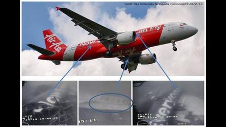Thân máy bay được xác định nhờ câu khẩu hiệu được sơn trên phi cơ. (Ảnh: