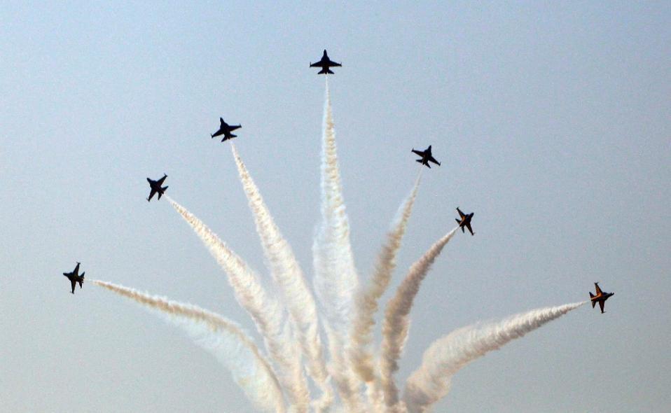 Các máy bay chiến đấu của Hàn Quốc (Ảnh minh họa: