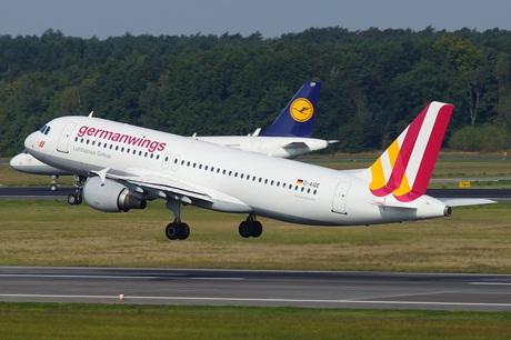 Một chiếc A320 của Germanwings (Ảnh minh họa: