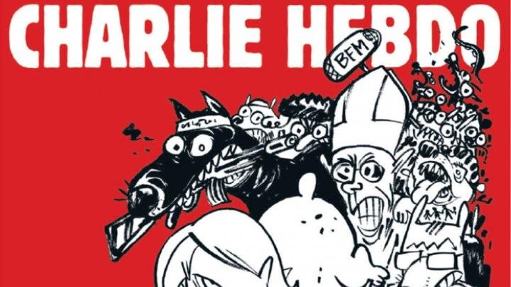 Trang bìa tạp chí Charlie Hebdo số ra sắp tới (Ảnh: