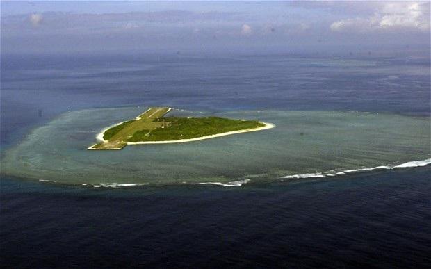 Đảo Thị Tứ, thuộc quần đảo Trường Sa của Việt Nam (Ảnh: