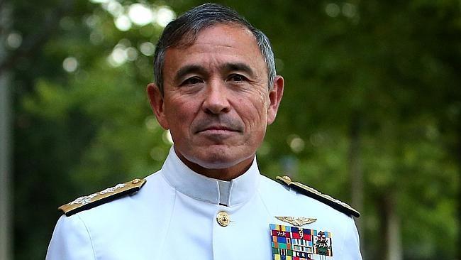 Đô đốc Harry Harris Jr. (Ảnh: