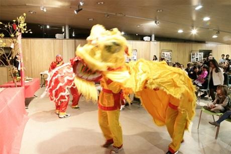 Múa lân truyền thống