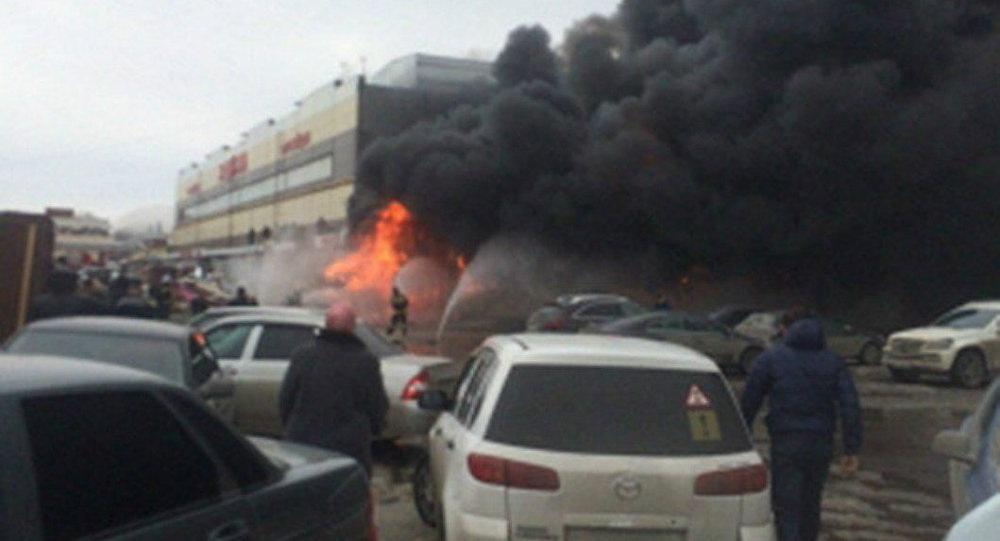 Không có người Việt thiệt mạng trong vụ cháy chợ tại Kazan, Nga