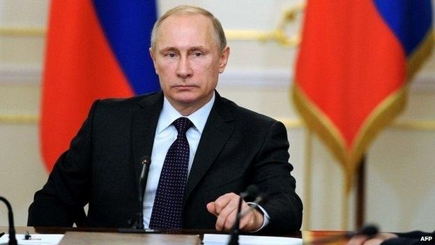 Tổng thống Nga Putin. (Ảnh AFP)