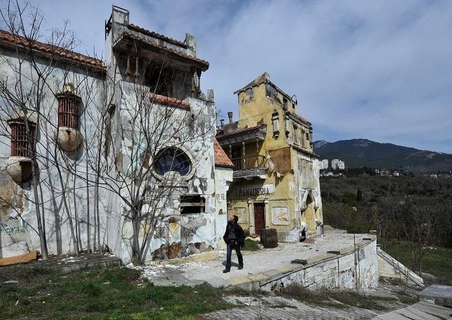 Cáp treo Miskhor - Ai-Petritại Crimea.