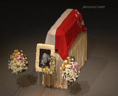 Sau lễ tang, linh cữu ông Lý Quang Diệu sẽ được đem đi hỏa táng